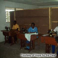 Hope For The Deaf Skills Training Program