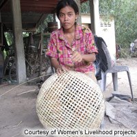 Cambodia Women's Livelihood projects
