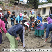 Building Churches and Parsonages Ecuador