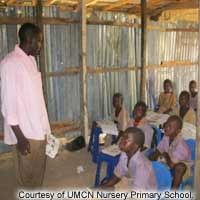 Nigerian United Methodist Nursery-Primary School at Gwandum