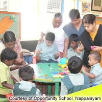 Opportunity School, Nappalayam - Educational Support for Mentally Challenged Children