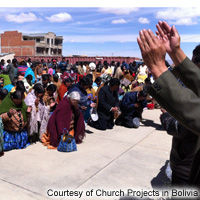 Church Projects in Bolivia