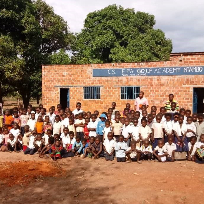 GO-UP Groundbreaking Primary School Construction in DRC