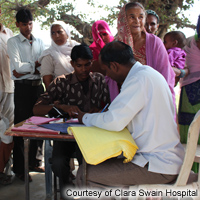 Rural Health and Community Development Project of Clara Swain Hospital