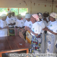 Shelter for Displaced Widows